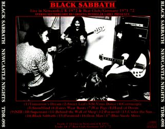 Black Sabbath 1972 [Audio-CD] задник
