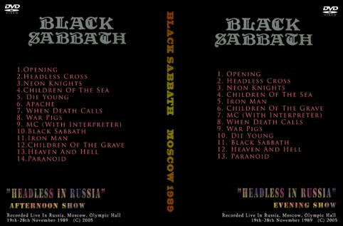 Black Sabbath 1989 [DVD]
