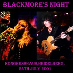 Blackmore's Night 2001.07.24 [Audio-CD] передник