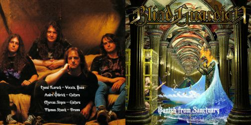 Blind Guardian 1992.09.15 [Audio-CD] задник