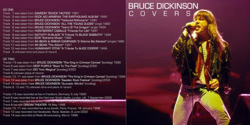 Bruce Dickinson  [Audio-CD] задник