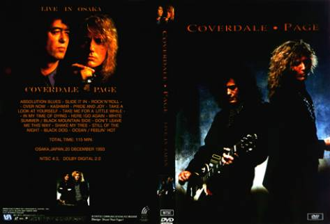 Coverdale - Page 1993.12.20 [DVD]