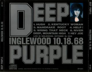 Deep Purple 1968.10.18 [Audio-CD] задник