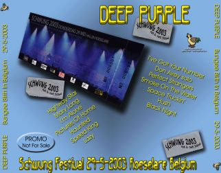 Deep Purple 2003.05.29 [Audio-CD] задник