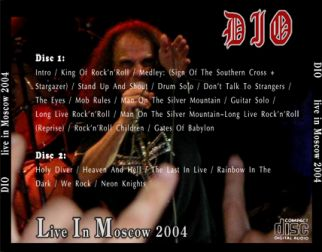 Dio 2004.07.16 [Audio-CD] задник