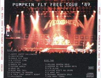 Helloween 1989 [Audio-CD] задник