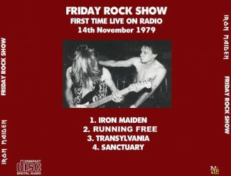 Iron Maiden 1979.12.14 [Audio-CD] задник