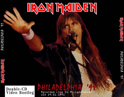 Iron Maiden 1991.01.29 [VIDEO-CD]