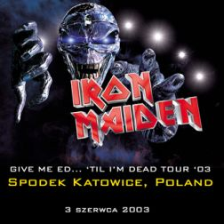 Iron Maiden 2003.06.03 [Audio-CD] передник