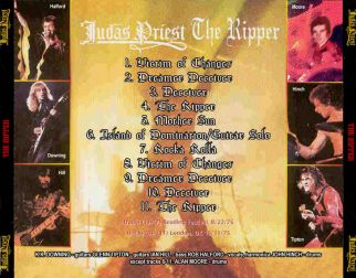 Judas Priest 1975 [Audio-CD] задник