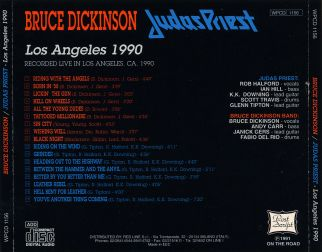 Judas Priest 1990 [Audio-CD] задник