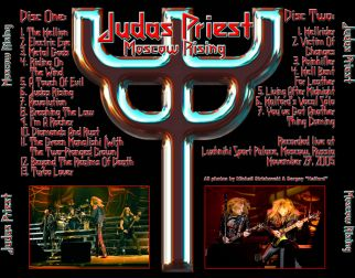 Judas Priest 2005.11.27 [Audio-CD] задник