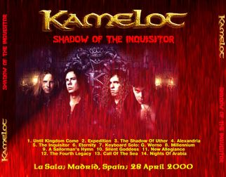 Kamelot 2000.04.28 [Audio-CD] задник