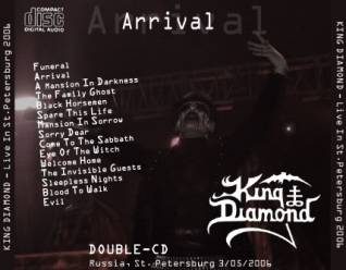 King Diamond 2006.05.03 [Audio-CD] задник