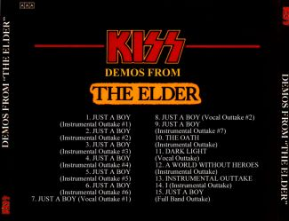 Kiss 1981 [Audio-CD] задник