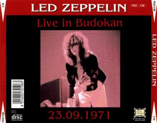 Led Zeppelin 1971.09.23 [Audio-CD] задник