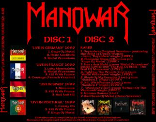 Manowar 1999 [Audio-CD] задник