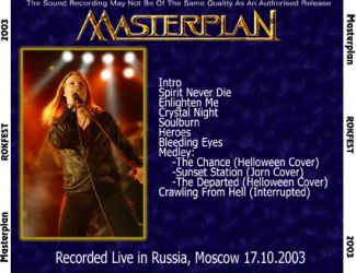 Masterplan 2003.10.17 [Audio-CD] задник