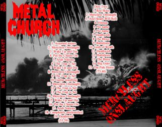 Metal Church  [Audio-CD] задник