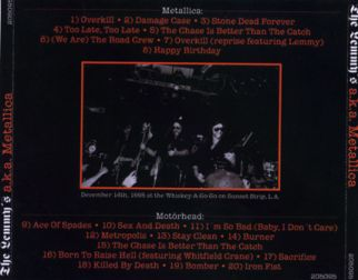 Metallica 1995 [Audio-CD] задник