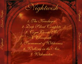 Nightwish 2000.09.23 [Audio-CD] задник