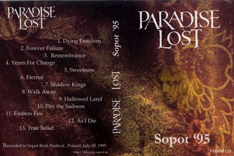 Paradise Lost 1995.07.03 [VIDEO-CD]