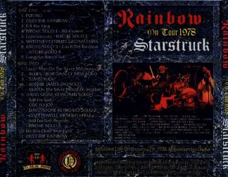 Rainbow 1978.01.17 [Audio-CD] задник