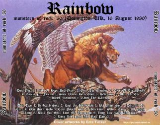 Rainbow 1980.08.16 [Audio-CD] задник