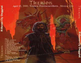 Therion 2000.04.15 [Audio-CD] задник