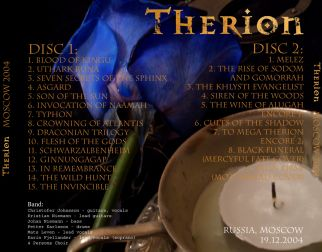 Therion 2004.12.19 [Audio-CD] задник